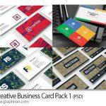دانلود ۴ طرح آماده و جدید کارت ویزیت خلاقانه PSD – شماره ۴۰۹