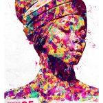 اکشن نقاشی امپرسیونیست رنگی Colorful Impressionist Painting Action