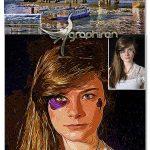 اکشن افکت نقاشی رنگ روغن جدید Oil Painting Photoshop Action V.2