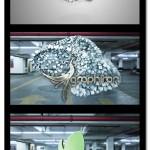 پروژه افترافکت تغییر شکل ذرات Particle Transformer Shards Logo Reveal