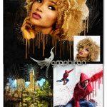 اکشن فتوشاپ نقاشی گرانج Posterum Grunge Painting Photoshop Action