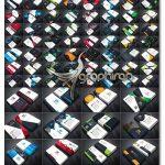 دانلود 100 طرح کارت ویزیت حرفه ای PSD لایه باز - شماره 412