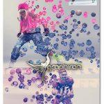 اکشن فتوشاپ حباب های ۳ بعدی ۳D Bubbles Photoshop Action
