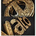 دانلود پروژه افتر افکت لوگوی طلایی طرح دار Black Gold Logo V4