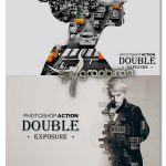 اکشن فتوشاپ دابل اکسپوژر قدرتمند Double Exposure Action