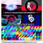 دانلود ۷۰ گرادیان هنری فتوشاپ FX & Image Enhancing gradients vol.3