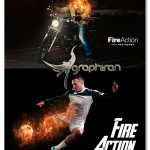 دانلود اکشن فتوشاپ افکت شعله آتش زیبا Fire Photoshop Action