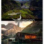 پروژه افتر افکت اسلایدشو پارالاکس Futuristic Parallax Slideshow