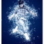 اکشن فتوشاپ افکت پاشیدن قطعات یخ Ice Maker Photoshop Action