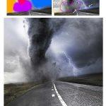 اکشن فتوشاپ متحرک سازی سوژه در عکس Image Animated Photoshop Action
