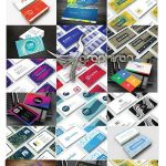 دانلود ۲۰ طرح آماده کارت ویزیت خاص PSD لایه باز – شماره ۴۱۴