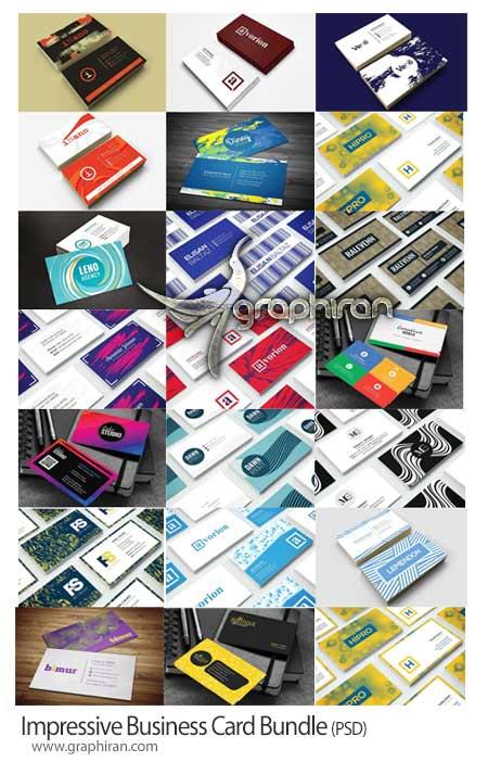 طرح های لایه باز کارت ویزیت