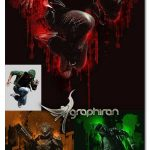 اکشن فتوشاپ ساخت افکت هنری با جوهر Ink Art Photoshop Action