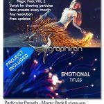اسکریپت افتر افکت ساخت ذرات نورانی Particular Presets Magic Pack II