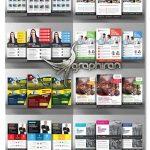 دانلود مجموعه 10 قالب PSD لایه باز تراکت تبلیغاتی و تجاری