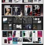 دانلود 15 قالب آماده بروشور و مجله تجاری تبلیغاتی برای ایندیزاین