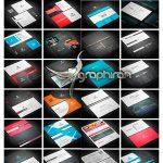 دانلود رایگان 150 طرح کارت ویزیت حرفه ای و لایه باز - شماره 415