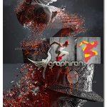 اکشن فتوشاپ پوسیدگی و خاکستر Ashen Decay Photoshop Action