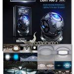 پکیج ۳ بعدی ساخت افکت های نورپردازی و انعکاس Video Copilot Backlight