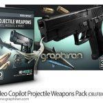 مجموعه مدل های ۳ بعدی تسلیحات نظامی Video Copilot Projectile Weapons