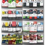 دانلود ۳۳ طرح آماده تراکت تبلیغاتی و تجاری PSD لایه باز فتوشاپ