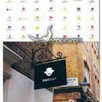 دانلود 43 لوگوی لایه باز با موضوع استارت آپ Startup Logos