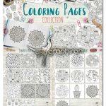 دانلود پک جدید طرح های کتاب رنگ آمیزی بزرگسالان و کودکان