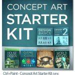 دانلود فیلم آموزش کانسپت آرت Ctrl+Paint Concept Art Starter Kit