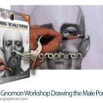 دانلود فیلم آموزش طراحی چهره مرد Drawing the Male Portrait