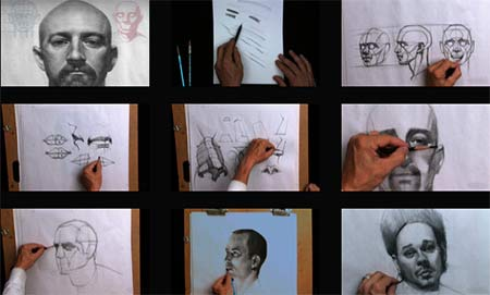 Drawing the Male Portrait Construction and Abstraction Methods