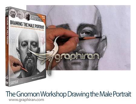 فیلم آموزش طراحی چهره مرد
