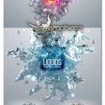 پروژه افتر افکت نمایش لوگو درون آب Liquids Quick Logo Pack 3