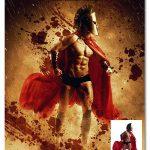 اکشن فتوشاپ ایجاد افکت جنگجوی اسپارتا Sparta Photoshop Action
