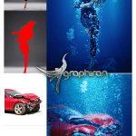 اکشن فتوشاپ غرق شدن زیر آب Submerged Photoshop Action