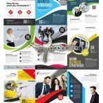 دانلود 10 طرح تراکت و پوستر تبلیغاتی تجاری PSD لایه باز