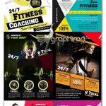 دانلود رایگان 10 پوستر تبلیغاتی باشگاه های ورزشی PSD لایه باز