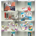دانلود رایگان ۱۰ بروشور سه لت لایه باز Tri fold Brochures Bundle