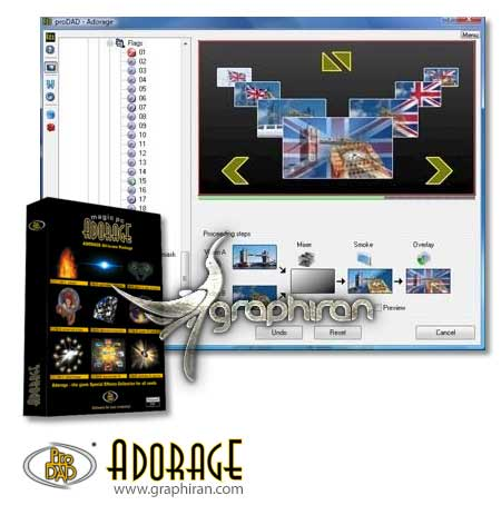 proDAD Adorage All-in-One effect library 1-13