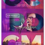 دانلود پروژه افتر افکت آماده تیزر تبلیغاتی تجاری Corporate Promo