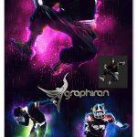 اکشن فتوشاپ ساخت افکت های نوری انرژی Energy Photoshop Action