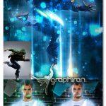 اکشن فتوشاپ افکت نورهای فانتزی Fantasy Photoshop Action