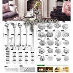 دانلود رایگان پک مدل های سه بعدی گچبری و تزئینات دکوری Gaudi Decor