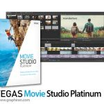 MAGIX VEGAS Movie Studio Platinum 14.0.148 ویرایش حرفه ای فیلم