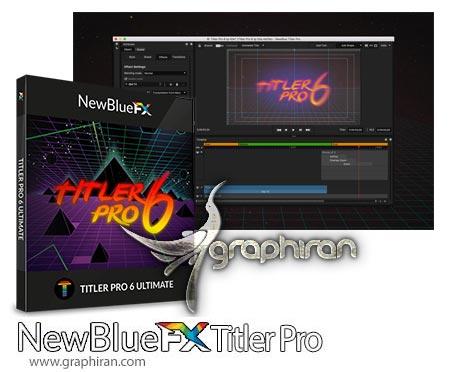 NewBlueFX Title Pro
