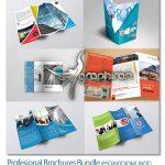 دانلود ۶ طرح لایه باز بروشور حرفه ای Profesional Brochures Bundle