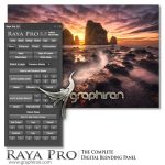 Raya Pro 5.0 Suite پلاگین و پنل فتوشاپ زیباسازی حرفه ای رنگ تصاویر