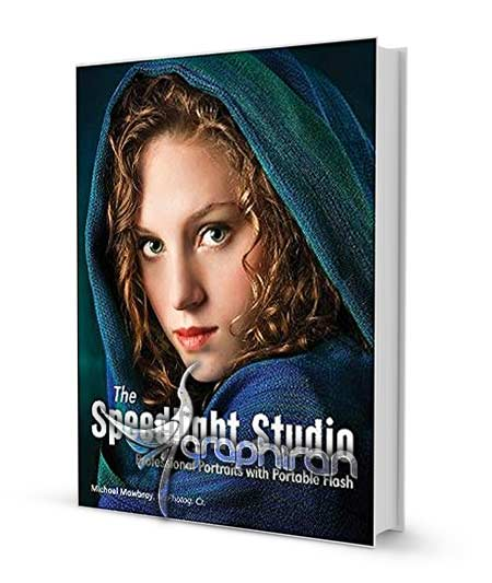 کتاب آموزش عکاسی پرتره حرفه ای با نورهای فلش پرتابل