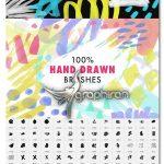 دانلود ۵۰۰ براش متنوع فتوشاپ Ultimate Texture 500 PS Brushes