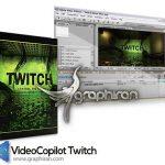 دانلود پلاگین افتر افکت Video Copilot Twitch + پریست های ۲۰۱۷