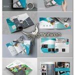 دانلود ۵ طرح آماده بروشور Bundle Brochure InDesign Template